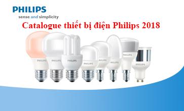Catalogue thiết bị điện Philips năm 2018